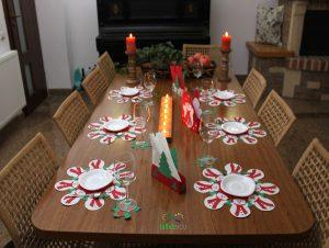 Decor pentru masa festivă