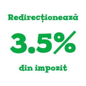 Redirecționează 3.5% din impozit